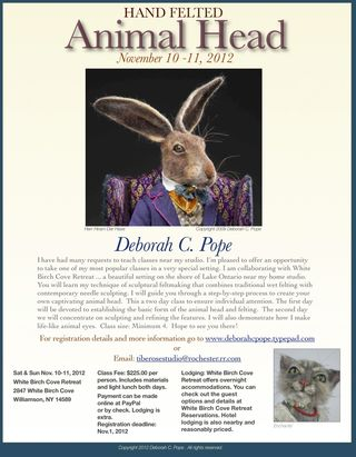 Animal head Class flyer