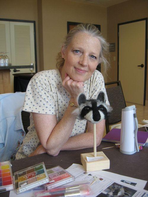 Felted Animal Head Class Denver NIADA 2011