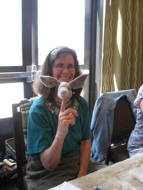 Felted Animal Head Class Denver NIADA 2011