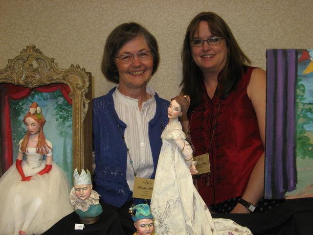 Heather Maciak and Nancy Wiley