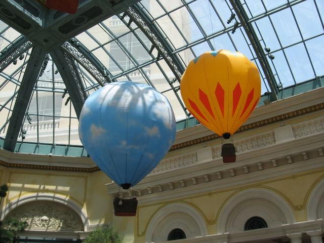 Ballons in Bellaggio